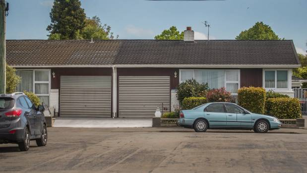 Two units in a property on Roker St are likely to be demolished to make way for a cycle way. (John Kirk-Anderson / Fairfax NZ)