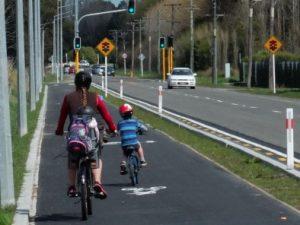 Full separation encourages family cyclingand the SH75 proposal needs to facilitate this (Quarrymans Trail, Sparks Road)